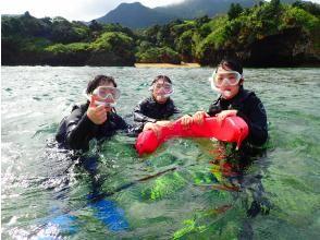 プランの魅力 Landing on a phantom island & snorkeling! の画像