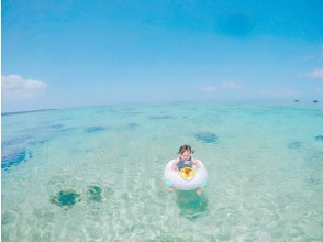 プランの魅力 水平線が見える透明度抜群のビーチ の画像
