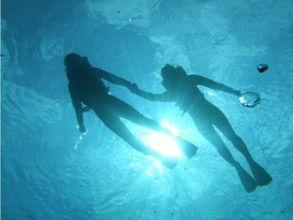 プランの魅力 您可以享受浮潜。 の画像