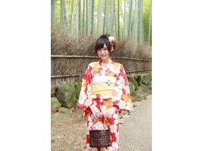 プランの魅力 Stroll around the city of Kyoto in a yukata の画像