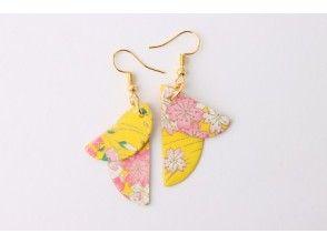 プランの魅力 Fashionable Japanese paper earrings の画像
