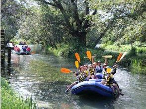 """プランの魅力 在河流中,终年水温为"""" 13°C""""的河水为100%,停船并在水下航行!在夏天,热量散发在冷水中☆ の画像"""