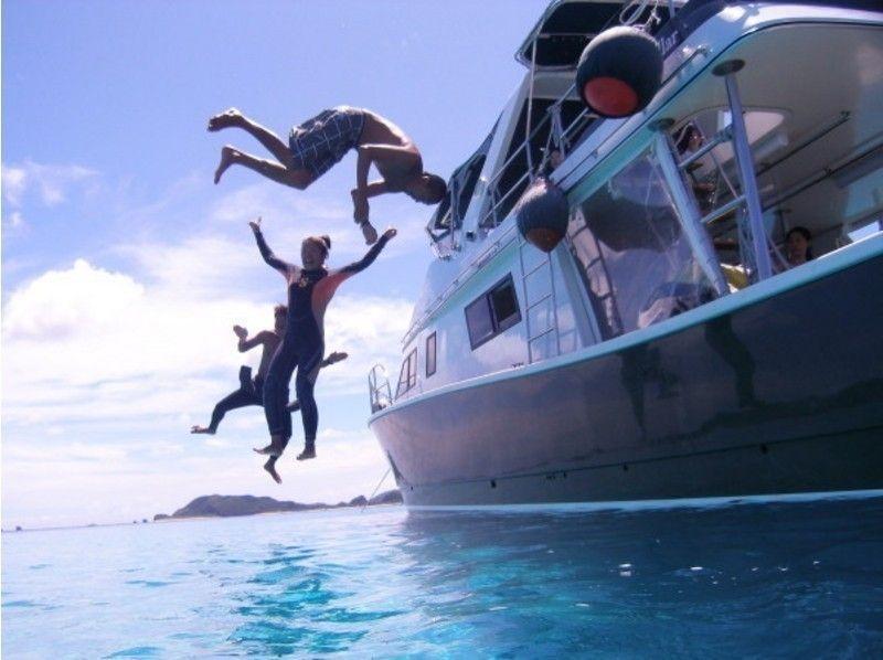 ダイビング専用クルーザーで優雅な気分で海を渡ろう!