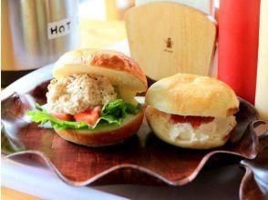 プランの魅力 ★ All-you-can-eat handmade bagel sandwich for lunch! の画像