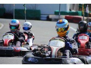 プランの魅力 大迫力のエンジンが搭載された本格レーシングカート の画像