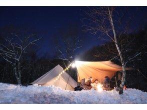 プランの魅力 夜のグランピングデッキ の画像