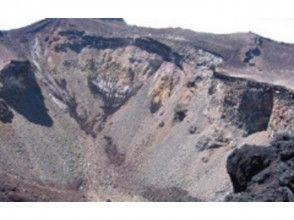 プランの魅力 富士山頂の火口 の画像
