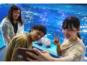 プランの魅力 You can feel the finless porpoise close to you! の画像
