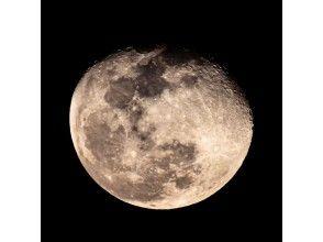 プランの魅力 お月様も拡大したら迫力がすごいですよ! の画像