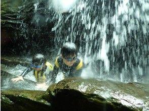 プランの魅力 Feeling refreshed after being hit by a waterfall の画像