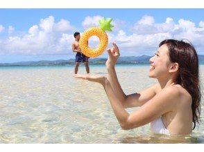 プランの魅力 マンタ。ウミガメシュノーケリングの後は絶景の幻の島に上陸! の画像