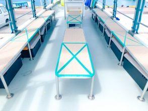 プランの魅力 コロナ対策済み/船内に消毒液常備。その他器材も清潔に保たれています。 の画像