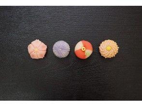 プランの魅力 Japanese sweets that you can choose and make の画像