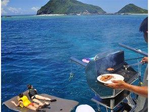 プランの魅力 Enjoy both onboard BBQ and onboard parties の画像