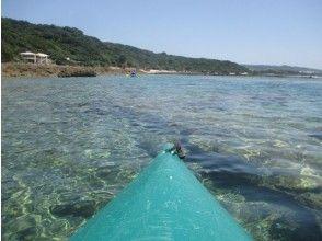 プランの魅力 カヤックで沖縄の海へ の画像
