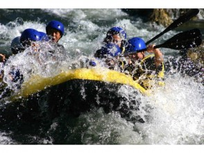 Charm of description image of Hokkaido Niseko] torrent in Shiribetsu River rafting (time freedom of one group Private Tour)