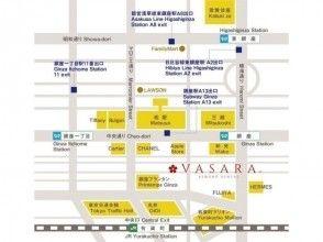 プランの魅力 Ginza store map の画像