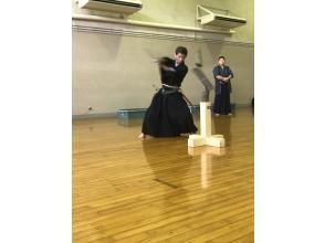 プランの魅力 模範演武を行い、日本刀の斬れ味を実際に見て頂きます の画像