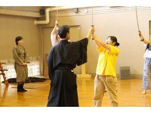 プランの魅力 剣術3種(居合・撃剣・抜刀)をワンストップで体験して頂けます の画像