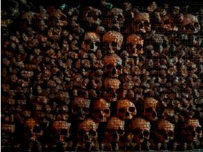 プランの魅力 死者の骨で埋死者め尽くされたサン・ベルナルディーノ・アレ・オッサ教会 の画像