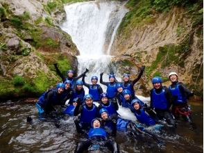 [Gunma, water, canyoning natural slider up to 7m! Charm of description image of thrill preeminent maple course (half a day)