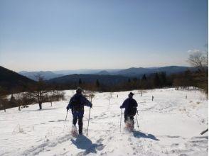 茶臼山スノーシューツアーの魅力の説明画像