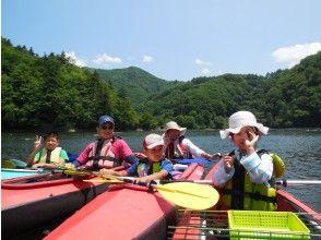 プランの魅力 Dogen Lake Family Canoe in Summer の画像