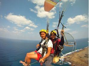 【鹿児島・奄美大島の大空へ!】モーターパラグライダー体験★体験型遊覧飛行サービスの魅力の説明画像