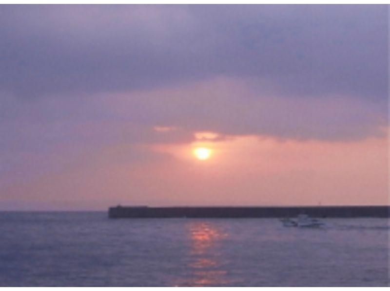 プランの魅力 朝日が昇る の画像