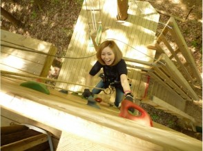 【埼玉・秩父】森を遊びつくす!フォレストアドベンチャー(アドベンチャーコース)の魅力の説明画像