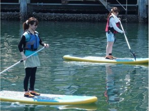 【Yokohama】 I do not ask men and women old! SUP beginner's lecture The waterside of the city is more familiar! Explanation image of the attraction of the 2 hour course