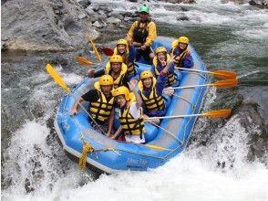 【北海道・富良野】日本三大激流にチャレンジ!北海道最高峰!鵡川ラフティングの魅力の説明画像