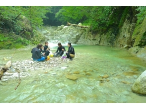 【三重・キャニオニング】Lv.1(未満)水晶谷コースの魅力の説明画像