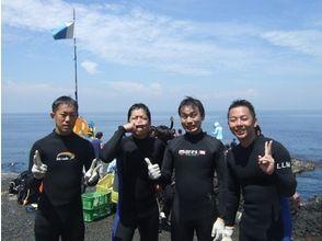 東京都/伊豆大]讓我們做的描述圖像的潛水★★潛水的魅力第一次