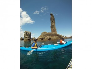 【北海道・小樽・積丹・ニセコ】余市ろうそく岩お散歩シーカヤックツアーの魅力の説明画像