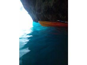 【北海道/小樽】絶景!青の洞窟シーカヤックツアーの魅力の説明画像