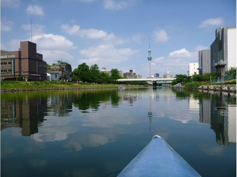 A canoeing experience that you can experience in Tokyo 23 wards