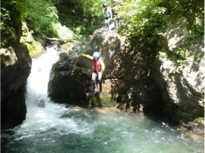 プランの魅力 滝壺にジャンプ の画像