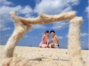 【沖縄・小浜島発着】★幻の島(浜島)上陸ツアー♪海の真ん中に浮かぶ真っ白な砂の島の魅力の説明画像