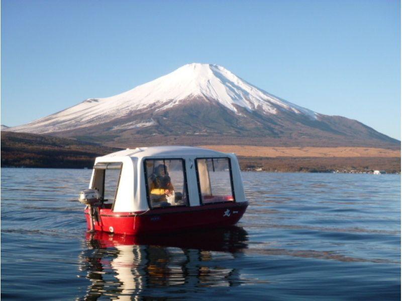 プランの魅力 小型ボートなので、ファミリーで貸切できる の画像