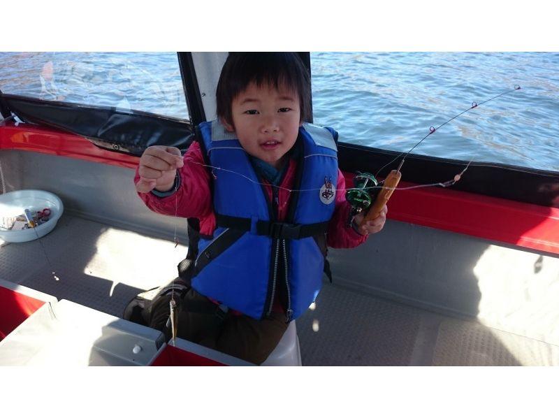 プランの魅力 お子様でも楽しめるワカサギ釣り の画像