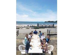 プランの魅力 テラスから材木座ビーチが一望できます! の画像