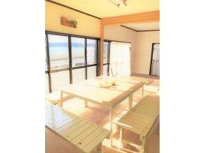 プランの魅力 クラブハウス2階の海が一望できるバルコニーとフリースペース の画像