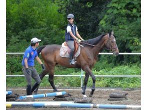 【茨城・守谷】マンツーマンで丁寧に指導します!体験乗馬(1回コース)の魅力の説明画像