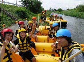 プランの魅力 Azumino Rafting is a course for beginners that children can enjoy. の画像