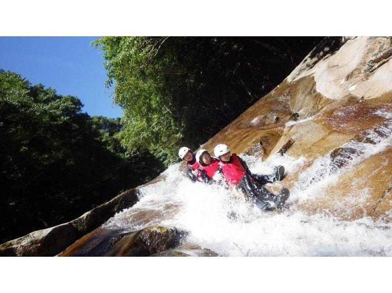 プランの魅力 二つの流れが合流する「出合滑」は、滑滑床渓谷のメジャーなスライダーポイントの一つ!! の画像