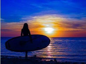 プランの魅力 To the sea at dusk dyed in golden color の画像