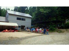 Morning course Move to and meet at the boathouse on the shore of Lake Aoki