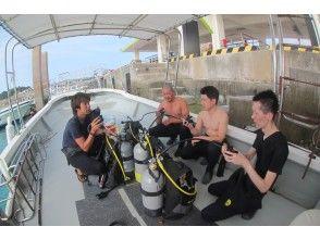 體驗潛水的說明