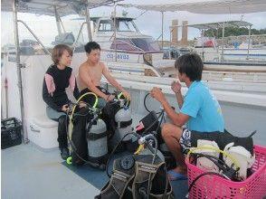体验潜水的说明